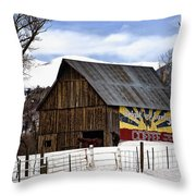 Bright And Early Coffee Throw Pillow