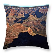 Bright Angel Canyon Throw Pillow