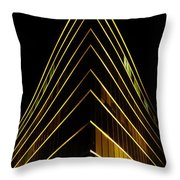 Bright Angle Throw Pillow