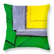 Bright Colors II Throw Pillow