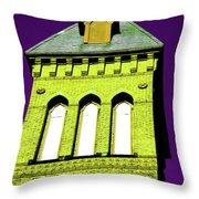 Bright Cross Tower Throw Pillow