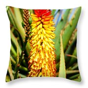 Bright Flower 2 Throw Pillow