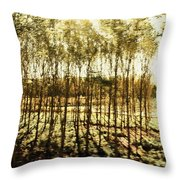 Bright Forest - Bosque Luminoso Throw Pillow