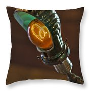 Bright Idea Throw Pillow by Susan Candelario