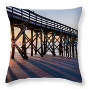 Bright New Day Throw Pillow