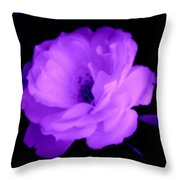 Bright Purple Perfection Throw Pillow