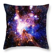 Bright Side Of The Black Hole Throw Pillow