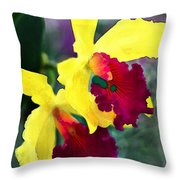 Bright Spot In The Jungle Throw Pillow