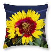 Bright Summer Flower  Throw Pillow