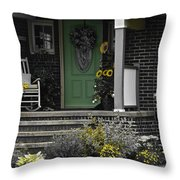 Brightening Your Day Throw Pillow