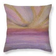 Brighter Horizon Throw Pillow