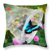 Brilliance Captured Throw Pillow