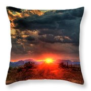 Brilliance Throw Pillow