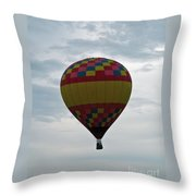 Brilliant Cloudiness Throw Pillow