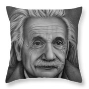 Brilliant Mind Throw Pillow