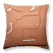 Brimful - Tile Throw Pillow