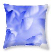 Bring Me Back To Life - Flower Petals Macro Throw Pillow