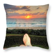 Bring On The Night Throw Pillow