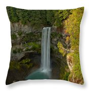 Brisith Columbia Rainforest Plunge Throw Pillow