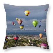 Bristol Balloon Fiesta Bristol Throw Pillow