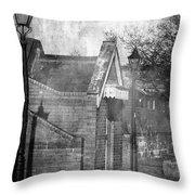 Bristol Docks Station Throw Pillow