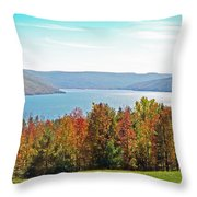 Bristol Harbour View Throw Pillow