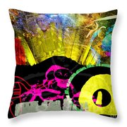 Britain Land Of Custom Myth Legend Throw Pillow