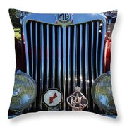 British Classic Throw Pillow
