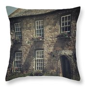 British Cottage Throw Pillow