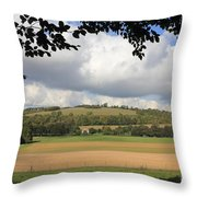 British Countryside Sussex Uk Throw Pillow