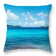 British Virgin Islands, St. John, Sir Throw Pillow