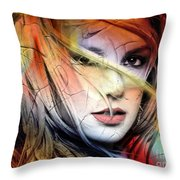 Britney-spears Throw Pillow