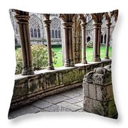 Brittany Cloister  Throw Pillow