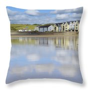 Broad Haven Clouds Throw Pillow