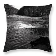 Broad River 5 Throw Pillow
