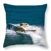 Broadco From Behind Throw Pillow