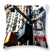 Broadway And Pine Throw Pillow