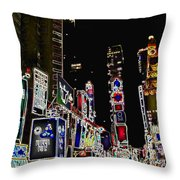 Broadway Throw Pillow