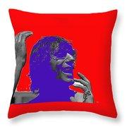 Broadway Joe Namath Telling Football Story C.c. And Co. Set  Tucson Arizona 1970-2012 Throw Pillow
