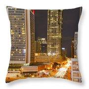 Broadway St Louis Throw Pillow