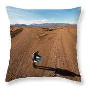 Brody Leven, Patagonia, Chile Throw Pillow
