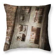 Broken And Broken Throw Pillow