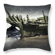 Broken And Forgotten  Throw Pillow