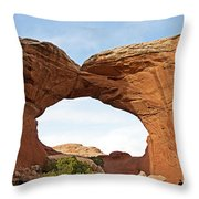 Broken Arch Throw Pillow