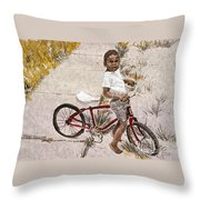 Broken Chain Throw Pillow