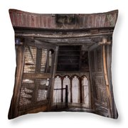 Broken Entry Throw Pillow