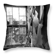 Broken Glass Throw Pillow