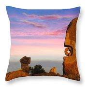 Broken Hill 1 Throw Pillow