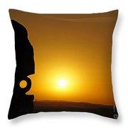 Broken Hill 14 Throw Pillow