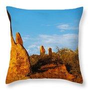 Broken Hill 2 Throw Pillow